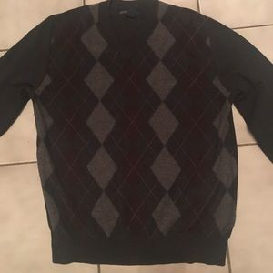 Banana republic argyle sweater